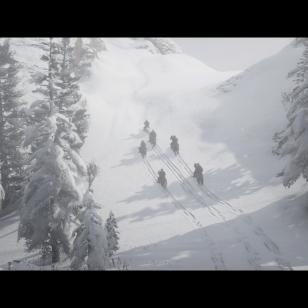 Red Dead Redemption 2 - Kuusi ratsastajaa jättää jälkensä lumeen