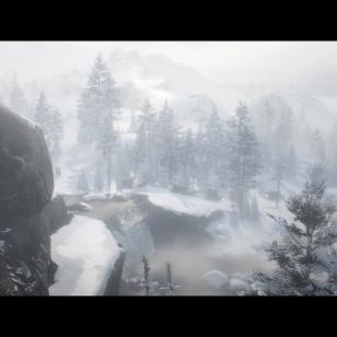 Red Dead Redemption 2 - Karavaani talvimaisemissa