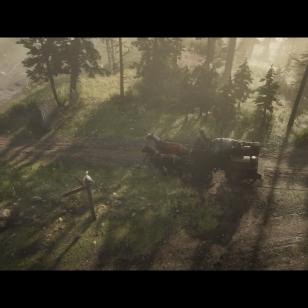 Red Dead Redemption 2 - Vankkurit ja katettu silta
