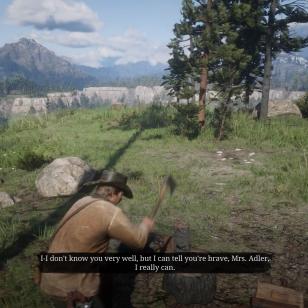 Red Dead Redemption 2 - Päivän hyvä työ