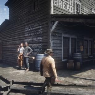 Red Dead Redemption 2 - Ensimmäistä kertaa Valentinessa