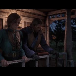 Red Dead Redemption 2 - Arthur ja Mary muistelevat menneitä