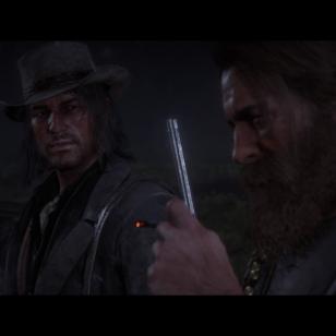 Red Dead Redemption 2 - Arthur Morgan ja John Marston