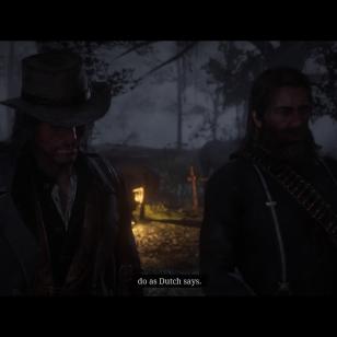 Red Dead Redemption 2 - Arthur antaa isällisiä neuvoja Johnille