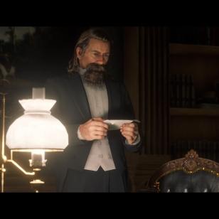 Red Dead Redemption 2 - Arthur lukee jollekulle muulle osoitettua kirjettä