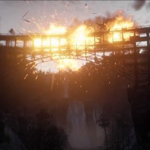 Red Dead Redemption 2 - Rautatiesilta sanoo pum