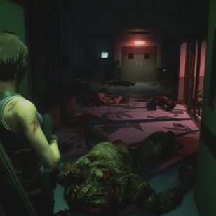 Resident Evil 3 Remake taistelutantere