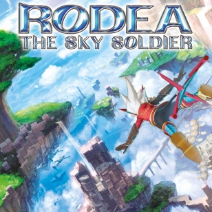 Rodea Wii U kansi the Sky Soldier