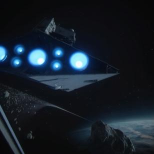 Star Destroyer, suomeksi Tähtiristeilijä.