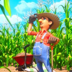 Balan Wonderworld: farmer Ned