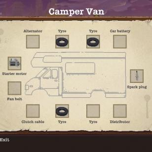 Karavaanari, karavaanari on teiden tukko Shelteredissäkin.
