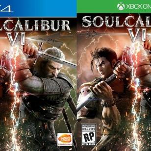 Soul Calibur VI kansitaide väliaikainen