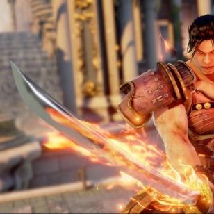 Soul Calibur VI miekka ja tulessa