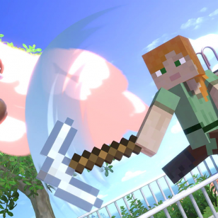 Super Smash Bros. Ultimate Minecraft-hahmot