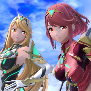 Super Smash Bros. Ultimate Pyra ja Mythra DLC