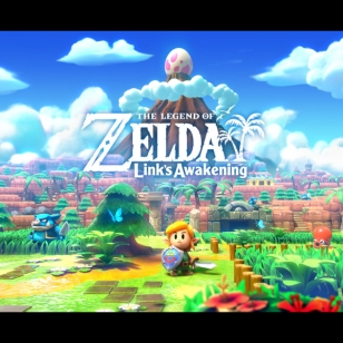 The Legend of Zelda Link's Awakening Switch taidekuva