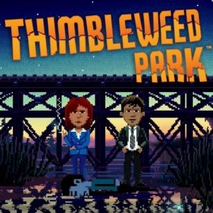 Thimbleweed Park banneri