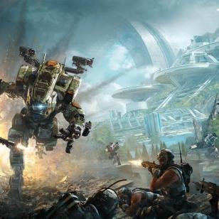 Titanfall 2:n kansikuva.
