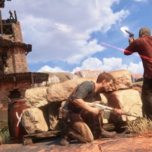 Uncharted 4 Drake Sully pampam