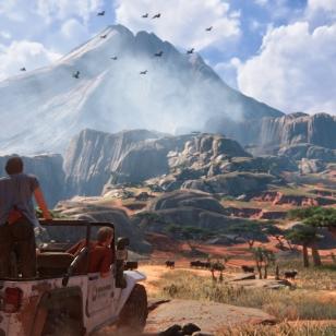 Uncharted 4 Madagaskar maisema vautsi jeejee