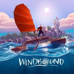 Windbound nostokuva nimellä varustettuna