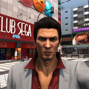 YAKUZA 6  The Song of Life Theater Square ja Club Sega