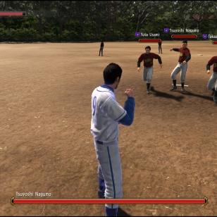 YAKUZA 6 The Song of Life taistelua pesäpallokentällä