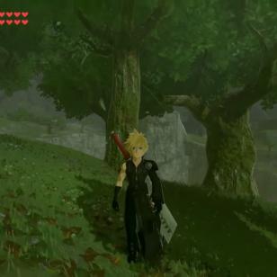 Zelda Breath of the wild Cloud modi