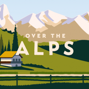 Over the Alps nostokuva leveä