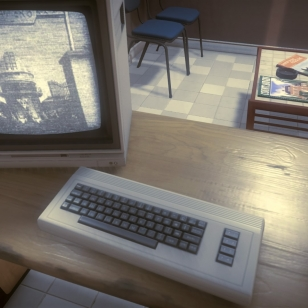Commodore 64 ja matka-tv