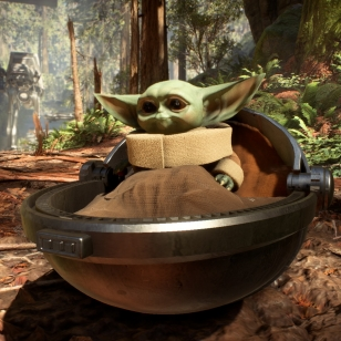 Baby Yoda mod Battlefront 2
