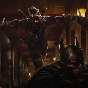 Batman: Arkham Court of Owls konseptitaide epävirallinen