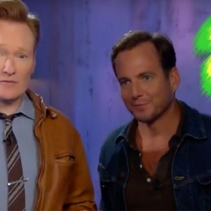 Conan O'Brien Will Arnett Arms Clueless Gamer