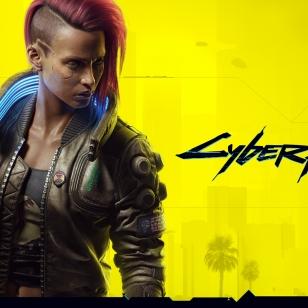 Cyberpunk 2077 nostokuva on keltainen