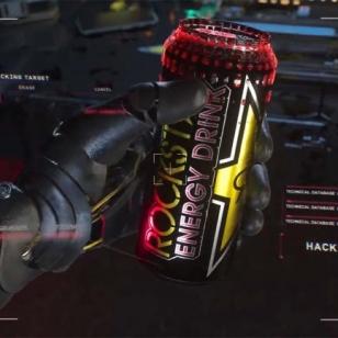 Cyberpunk 2077 Samurai Cola Rockstar Energy