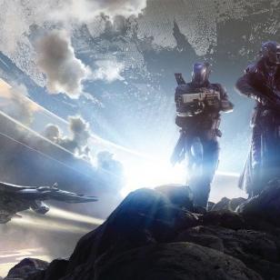 Destiny, kolme vartijaa ja Matkaaja