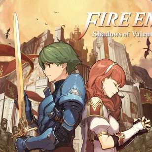 Fire Emblem Echoes: Shadows of Valentia banneri