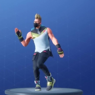 Fortnite Milly Rock Swipe It tanssi koreografia