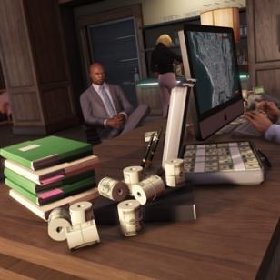 GTA V Online työpöytä
