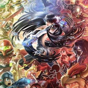 Super Smash Bros. Bayonetta kuvitus