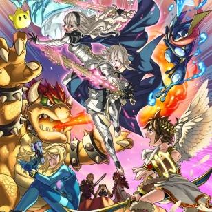Super Smash Bros. Corrin kuvitus
