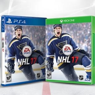 NHL 17 Kansikuvat