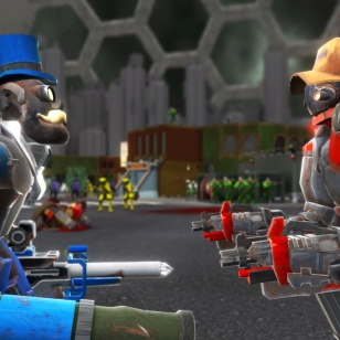 Spareware-robotteja!