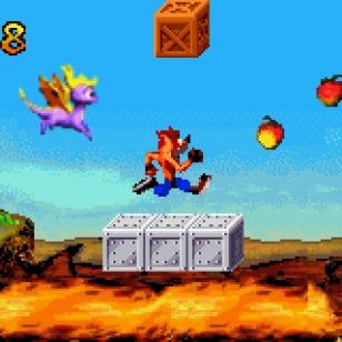 Crash Bandicoot Fusion