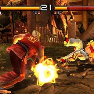 Tekken 5:n PS2-versiolle omat kotisivut