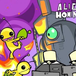 Alien Hominid kannettavassa muodossa