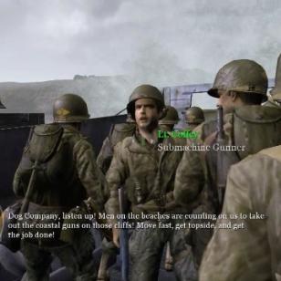 Tuoretta pelikuvaa Xbox 360:n Call of Duty 2:sta