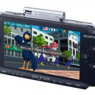PSP:n TalkMan-tulkkiohjelmasta Euro-versio