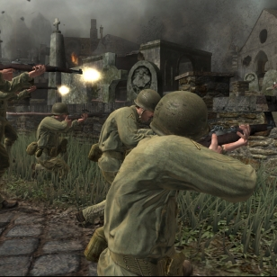 Kuvia ja infoa Call of Duty 3:n Xbox 360 -versiosta