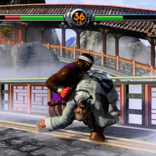 Virtua Fighter 5:n demo Xbox Livessä